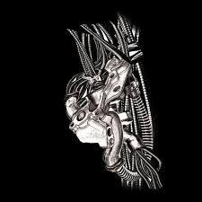 Imagini pentru biomechanical tattoo design