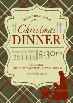 christmas dinner invite christmas dinner invitation christmas