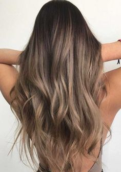 44 Gorgeous Hair Color Idea That Will Inspire You, Hair highlights for brown ha. - - 44 Gorgeous Hair Color Idea That Will Inspire You, Hair highlights for brown hair , hair highlights blonde,hair highlights Brown. Hair Color Ideas For Brunettes Balayage, Blonde Hair With Highlights, Hair Color Balayage, Brown Hair With Balayage, Light Brown Highlights, Caramel Hair Highlights, Bronde Haircolor, Brown Highlighted Hair, Mousy Brown Hair