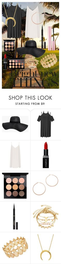 """""""Bright New Things"""" by kiki-man on Polyvore featuring Boohoo, WithChic, Raey, Smashbox, MAC Cosmetics, Jennifer Zeuner, L'Oréal Paris and INC International Concepts"""