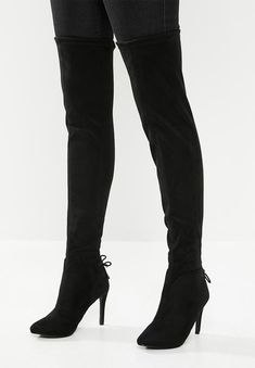 Over the Knee length. Duvet Bedding Sets, Bedding Shop, Green And Grey, Black Boots, Two By Two, Footwear, Heels, Women, Style