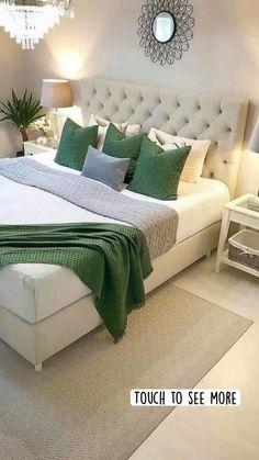 Bedroom Green, Room Decor Bedroom, Bedroom Furniture, Bedroom Ideas, Bedroom Makeovers, Bedroom Bed, Bedroom Styles, Kids Bedroom, Master Bedroom