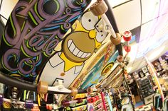 #HomerSimpson specialty shape! We have many more special shape #decks, #longboards, pro and discount decks! We are Orbit Skate