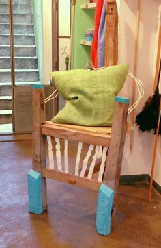 オーガニックな椅子。