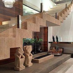 """<span class=""""emoji emoji1f449""""></span> guarda-corpo detalhe inox #guardacorpo #inox #inspiração #projeto #escada #decor #decoração ..."""