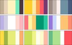 color palettes 4 by RRRAI on DeviantArt