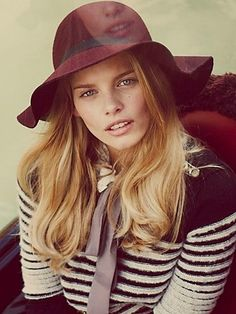 Hat Attack Jenoah Floppy Brim Hat at Free People Clothing Boutique - StyleSays