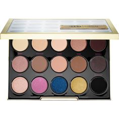 Urban Decay UD Gwen Stefani Eyeshadow Palette ($58) ❤ liked on Polyvore featuring beauty products, makeup, eye makeup, eyeshadow, beauty, cosmetics, eyes, palette eyeshadow, urban decay eyeshadow and urban decay