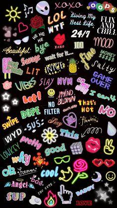 Teen Wallpaper, Cute Pastel Wallpaper, Funny Phone Wallpaper, Pop Art Wallpaper, Trippy Wallpaper, Graffiti Wallpaper, Aesthetic Pastel Wallpaper, Cute Wallpaper Backgrounds, Galaxy Wallpaper