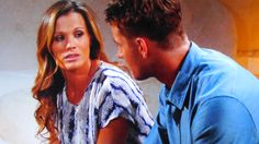 Adam explains to Chelsea why she must return to Genoa City,