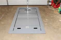 Storm shelter for your garage.