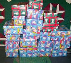 Boxes all wrapped!!