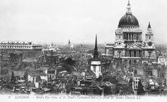 London postcards provide a fascinating insight into a changing city for the past 150 years. Here I present a sample from the first half of the century. London Postcard, Victorian Life, London History, London Photography, Time Travel, Paris Skyline, Nostalgia, The Past, City