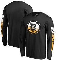 e54ba2b7970 Boston Bruins Fanatics Branded Big  amp  Tall Gradient Logo Long Sleeve  T-Shirt -