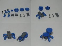 Microkoma Instructions - Soon Cobb Lego Bionicle, Lego Mecha, Lego Design, Lego Sets, Cuadros Star Wars, Lego Boxes, Micro Lego, Lego Animals, How To Make Toys