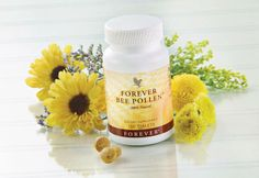 Fight hayfever the natural way. Forever Living Bee Pollen boosts energy and stamina, and assists in maintaining a healthy circulatory, digestive, immune and nervous system. A great multi-vitamin and multi-mineral supplement that is easily absorbed. This natural supplement contains no preservatives or artificial flavours. Ideal to take during the Summer months when the pollen count is high.  Shop online at www.gerborah-forever.myforever.biz/store Product no 26 £12.56 for 100 tablets