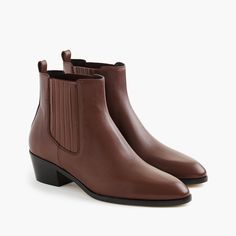 Brown Chelsea Boot : Women's Ankle Boots | J.Crew