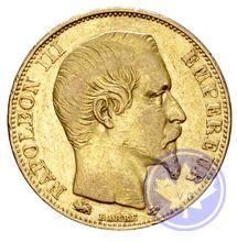Monnaies françaises 20 francs 1855d grand lion ttb