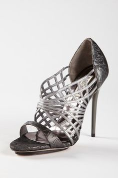 Badgley Mischka Sailor Caged Heel Sandal