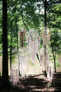 Filtro dos Sonhos, ou Dream catchers, além de decorativos são objetos de poder!
