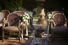 Ceremony setting at Borgo Santo Pietro flower by Tuscany Flowers photo by Daniele Vertelli Planner Simona Coltellini #aebtuscanweddings