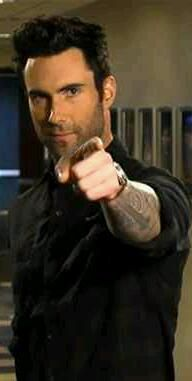 """Adam Levine SNL 01/26/2013 - I love when Adam points at me and says """"I want YOU!"""""""