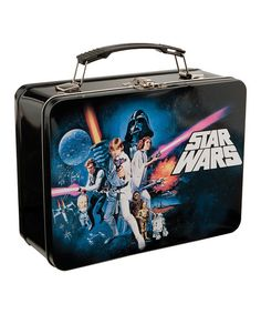 One of the many lunchboxes I had, and destroyed by kicking the whole way home on the walk from school.