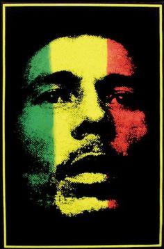 Bob Marley Blacklight Poster by MoonwolfStudios on Etsy