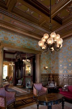 The McDonald Mansion's Gentlemen's Parlor