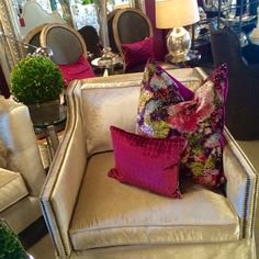 Designers Guild, Love Seat, Couch, Decorations, Furniture, Beautiful, Home Decor, Homemade Home Decor, Sofa