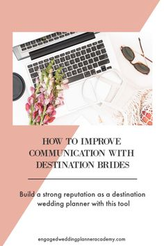 If you're a wedding planner and serving the destination market, then this tool might be just want you're looking for. Effective communication is key for a joyful, sustained partnership. Event Planning Business, Wedding Planning Tips, Party Planning, Becoming An Event Planner, Destination Wedding Planner, Wedding Planners, Planner Tips, Effective Communication, Planer