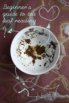 Beginners guide to tea leaf reading http://alisonappleton.com/charista/beginners-guide-tea-leaf-reading/
