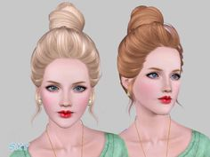 female adult hair  Found in TSR Category 'Female Sims 3 Hairstyles'