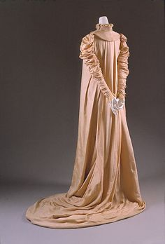 Coat Made For Dress Designed By Liberty & Co. (British, Founded London, 1875)  British   c.1891  -  The Metropolitan Museum Of Art    (Dress With Matching Coat)