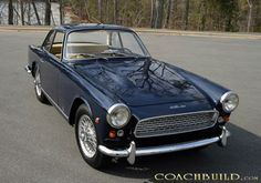 Vignale Triumph Italia 2000 1959-62 Triumph Motor, Triumph Tr3, Triumph Sports, Triumph Spitfire, Lotus Elite, Fiat 850, British Sports Cars, Cool Cars, Classic Cars