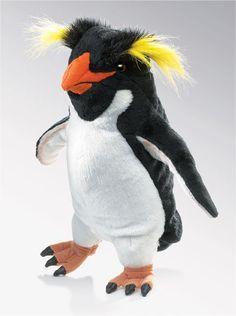 Web Wilds Rockhopper Penguin Puppet