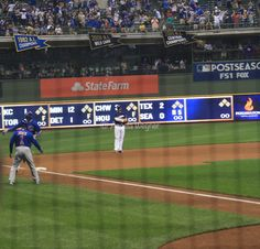 Kris Bryant, Chicago Cubs Win 5-3! @ Miller Park, 9/21/17.