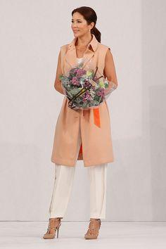 Mary, Crown Princess of Denmark apperas at the Designers Nest during the third day of Copenhagen Fashion Week Spring/Summer 2016 on August 7, 2015 in Copenhagen, Denmark.