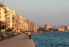 Thessaloniki is more than just Greece's second city, but a place with rich cultural heritage and Jewish history, one which city and tourist officials hope to Greece Tourism, Greece Travel, Austrian Airlines, Beautiful World, Beautiful Places, Places Ive Been, Places To Visit, Dream City, Scenic Photography