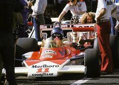 James Hunt McLaren - Ford 1976