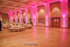 Uplighting at Circuit Center, Southside, Pittsburgh - Pittsburgh DJ For all occasions - Jammin' Jason DJ Entertainment- DJ Jason Rullo Pittsburgh, Circuit, Dj, Entertainment, Wedding Ideas, Wedding Ceremony Ideas, Entertaining