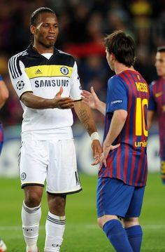 2012-04-24: Barcelona - #Chelsea (2-2) Champions League semi-final