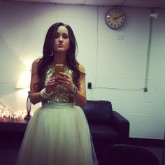 Britt Nicole. Her dress is absolutely beautiful!<3 Love her!