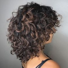 60 Styles and Cuts for Naturally Curly Hair Shaggy Layered Cut. - - 60 Styles and Cuts for Naturally Curly Hair Shaggy Layered Cut For Thick Curly Hair Thin Curly Hair, Haircuts For Curly Hair, Curly Hair Tips, Hairstyles With Bangs, Curly Hair Styles, Natural Hair Styles, Curly Hair Layers, Mid Length Curly Hairstyles, Formal Hairstyles
