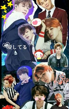 parkjimin, jimin, and Collage image