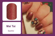 Available in a sparkle finish, this beautifully bold color wrap accents well with any outfit. #bevsjamminnails https://bkimball.jamberry.com/us/en/shop/products/mai-tai#.VxenM_krJQI