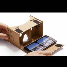 An awesome Virtual Reality pic! Harga 60k PERNAH LIAT EDO ZELL MAIN GINIAN??? PENGEN NGERASAIN JUGA GMNA BISA MAIN VIRTUAL GAME.. BURUAN PESAN VIRTUAL GAME BOARD NIH  Tutorial Untuk Rakit Karton download di playstore Google Cardboard  Rasakan Pengalaman Virtual Reality Di Ponsel Cerdas Anda dengan Karton.  Cardboard is a fold-out cardboard smartphone mount that when combined with lenses a magnet a piece of hook-and-loop fastener and a rubber band and held against the face affords a virtual…