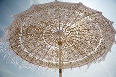 Balinese temple umbrella