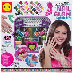 Alex Toys Ultimate Nail Glam Salon Kit-, Yellow