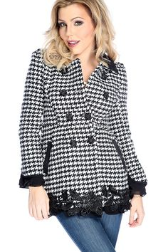 92f7e3c294c7 Stay warm and stylish in this coat! Featuring long sleeves